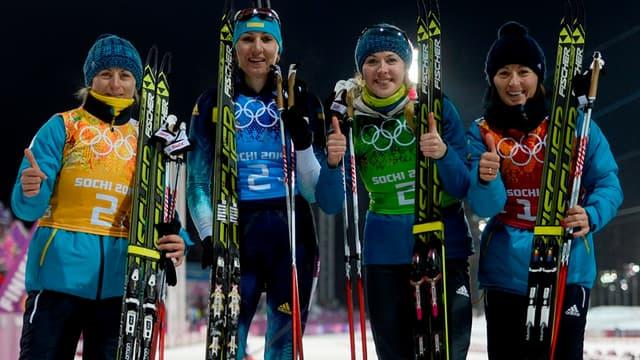 Le relais féminin ukrainien