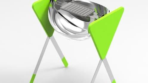 Le projet Chrisalys de barbecue solaire inventé par Alexandra Abidji et Ugo Janiszewski remporte le prix du Design Durable 2014
