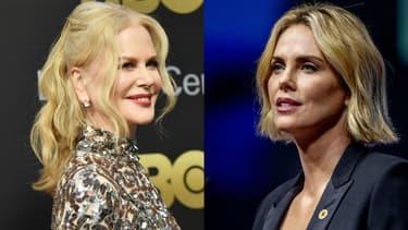 Nicole Kidman et Charlize Theron