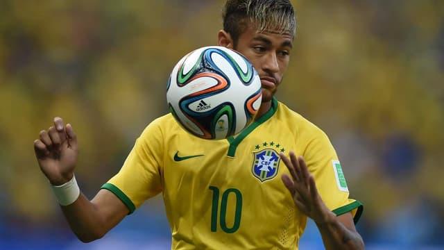 La star Neymar est l'un des joueurs sponsorisés par Nike