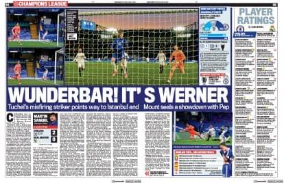 Les pages Sport du Daily Mail