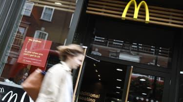 McDonald's faisait face à la première grève de son histoire au Royaume-Uni
