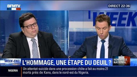"""Hommage national aux Invalides: """"La nation le devait aux victimes et à leurs familles"""",Stéphane Gicquel"""