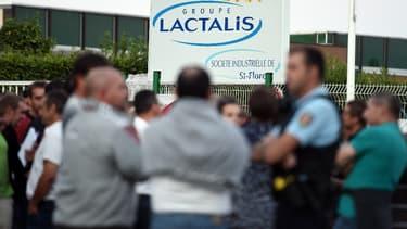 Lactalis a déposé une partie de ses comptes.