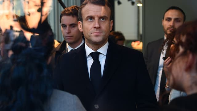 Emmanuel Macron à Amiens le 21 novembre dernier.