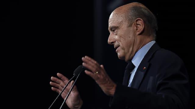 Alain Juppé a présenté officiellement son programme économique mardi 10 mai au Palais des Congrès, à Paris.