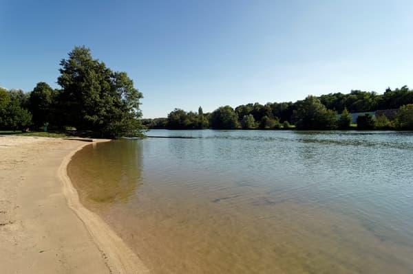 La plage de Meaux, en Seine-et-Marne