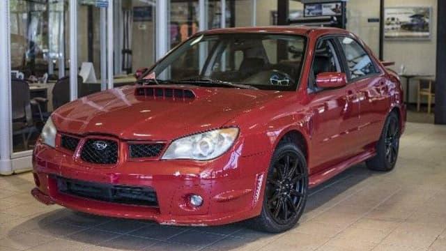 Six minutes sur grand écran, et cette Subaru est pour l'instant côté près de 50.000 dollars.