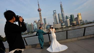 Plus de 17.000 couples divorcés se sont remariés à l'identique à Shanghai l'an dernier.