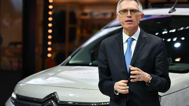 Le PDG du groupe PSA a reçu un bonus d'un million d'euros lié à l'intégration des constructeurs Opel/Vauxhall dans le groupe. (image d'illustration)
