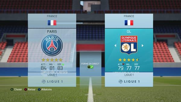 Une sacrée classe d'écart entre le PSG et l'Olympique Lyonnais