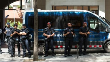Les Mossos, la police catalane. (Photo d'illustration)