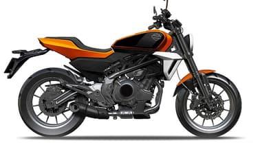 Le projet de cette Harley chinoise semble déjà bien avancé