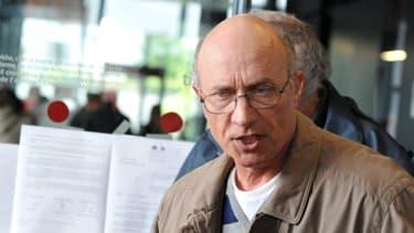 Gilles Patron lors du procès de Tony Meilhon, le 30 mai 2013.