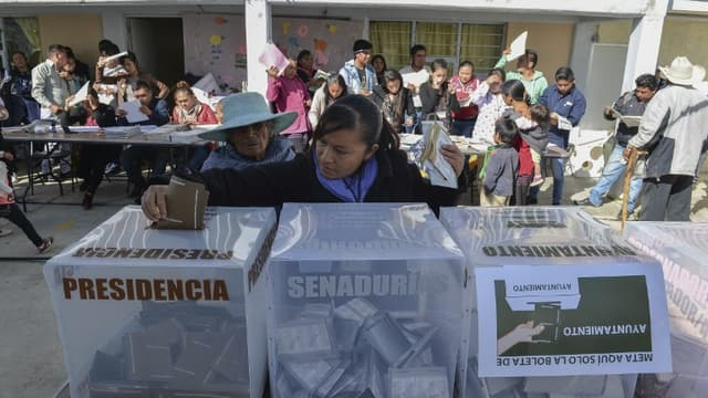 les Mexicains élisent leur nouveau présidence ce dimanche.