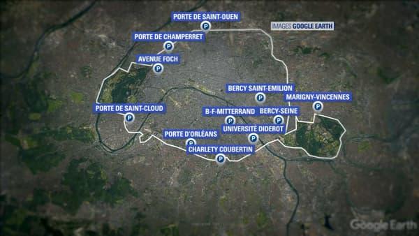 Les places supplémentaires de parking aux portes de Paris