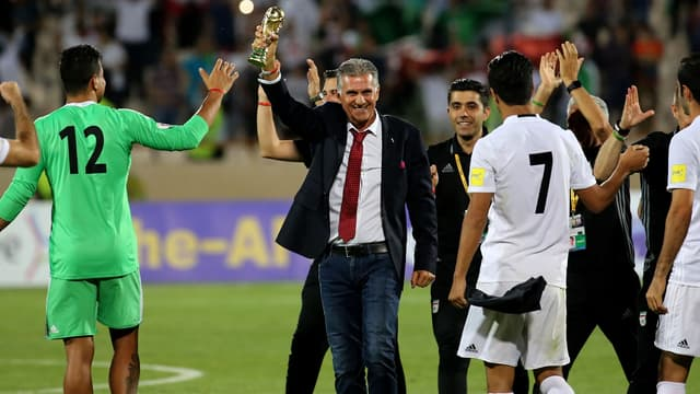 Carlos Queiroz, le sélectionneur de l'Iran