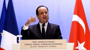 François Hollande a reconnu ce 23 janvier avoir échoué dans l'inversion de la courbe du chômage