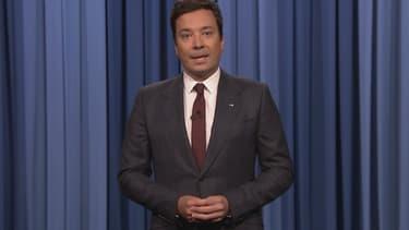Jimmy Fallon dans son émission du 14 août