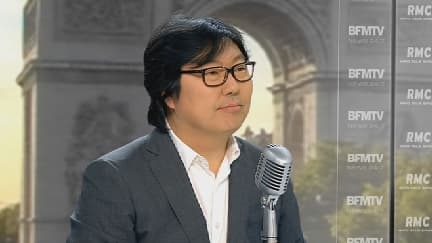 Jean-Vincent Placé, ce jeudi 21 août sur le plateau de BFMTV.