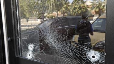 Le lieu de la fusillade qui a fait deux morts, samedi 23 août à Montpellier.