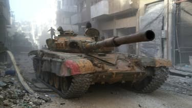 """Le régime promet que la Syrie sera """"le cimetière des envahisseurs""""."""