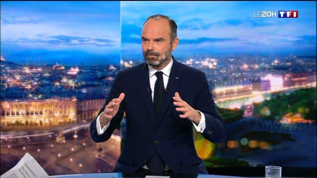 Édouard Philippe, invité du 20 heures de TF1 le 11 décembre 2019.