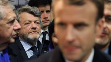 Jean-Louis Borloo et Emmanuel Macron