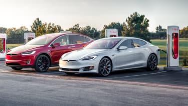Les prix des Model S et X ont augmenté de plusieurs dizaines de dollars en Chine. (image d'illustration)