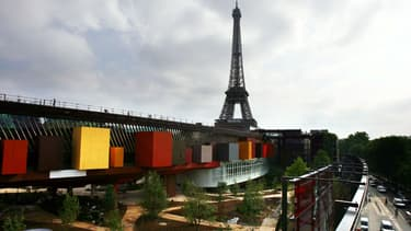 Le musée du Quai-Branly à Paris.