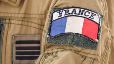 L'écusson des soldats français de l'opération Barkhane au Sahel en décembre 2017 (photo d'illustration)