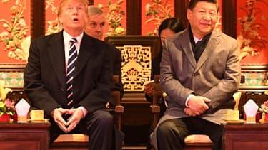 Donald Trump est arrivé en Chine pour une visite de deux jours.
