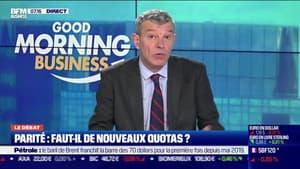 Le débat  : Parité, faut-il de nouveaux quotas ? par Jean-Marc Daniel et Nicolas Doze - 08/03