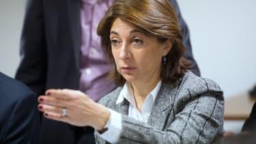 La présidente du conseil départemental des Bouches-du-Rhône, Martine Vassal, (Les Républicains) a annoncé jeudi, lors de ses voeux à la presse, une baisse de 20% du train de vie des élus départementaux des Bouches-du-Rhône - Jeudi 14 janvier