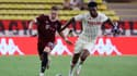 Monaco-Sparta Prague, au stade Louis-II le 10 août 2021