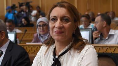 Souad Abderrahim, la nouvelle maire de Tunis, le 3 juillet 2018