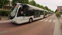 Un bus TEOR, à Rouen.