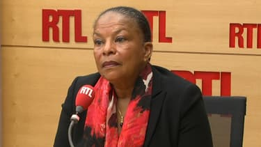 Christiane Taubira à RTL, le lundi 10 octobre.