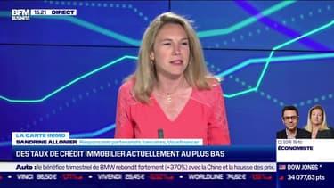 Sandrine Allonier (Vousfinancer) : Des taux de crédit immobilier actuellement au plus bas - 20/04