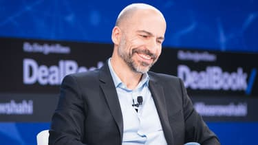 Dara Khosrowshahi le patron d'Uber