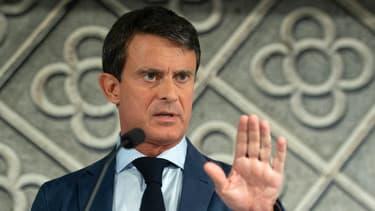 Manuel Valls le 26 septembre 2018 à Barcelone.