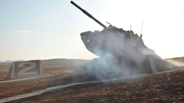 Un tank nord-coréen