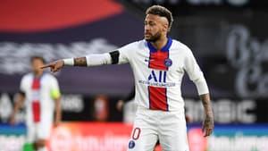 Neymar lors de Rennes-PSG