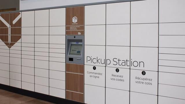 Le service de consignes automatiques Pick-Up Station de la Poste a été lancé à l'automne 2015 et il est actuellement disponible dans 110 gares d'Ile-de-France et 70 bureaux de poste,