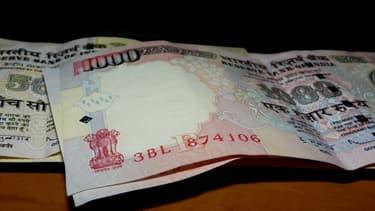 La roupie indienne a perdu 14% de sa valeur depuis le début de l'année.