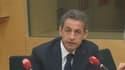 Nicolas Sarkozy était l'invité de RTL, lundi 12 janvier 2015.