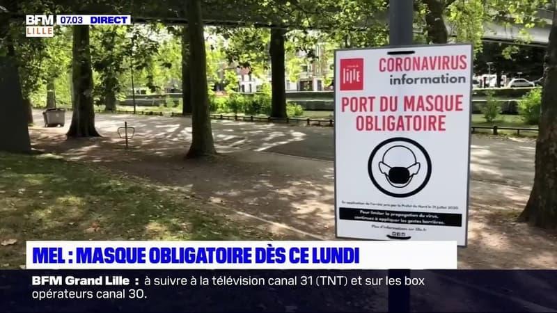 Métropole de Lille: le masque obligatoire en extérieur dès ce lundi, ce qu'il faut savoir
