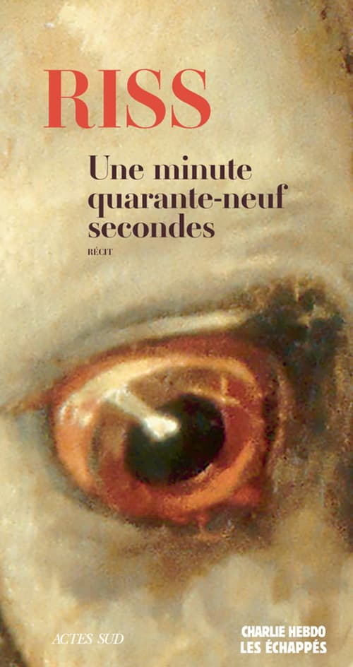 La couverture de Une minute quarante-neuf secondes de Riss