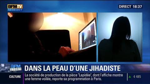 """BFM Story: """"Dans la peau d'une djihadiste"""": le témoignage terrifiant d'une journaliste infiltrée - 21/01"""