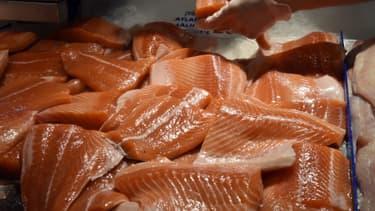 Le saumon transgénique va être consommé par les Américains (photo d'illustration)